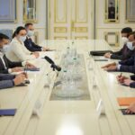President of Ukraine Volodymyr Zelenskyi met with Chairman of the Board of Directors of ArcelorMittal